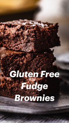Gluten Free Deserts, Gluten Free Sweets, Gluten Free Chocolate, Foods With Gluten, Gluten Free Cookies, Gluten Free Baking, Dairy Free Recipes, Chocolate Recipes, Baking Recipes