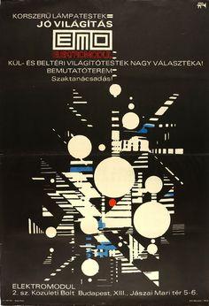 Barát - KORSZERŰ LÁMPATESTEK - JÓ VILÁGÍTÁS - EMO - ELEKTROMODUL, 1969