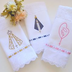 Communion, Instagram Feed, Embroidery Patterns, Cross Stitch, Sewing, Crochet, Party, Ideas, Bath Towels & Washcloths