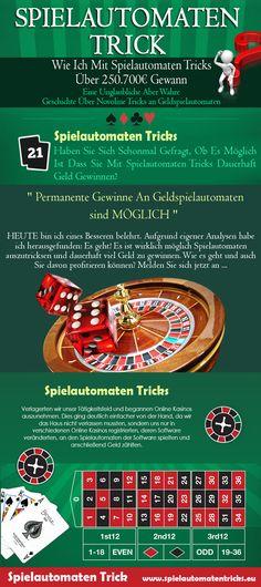 Doch lesen Sie weiter, welche bahnbrechenden Erfahrungen ich als Spieler eines Online Casinos mit diversen Spielautomaten Trick ( http://www.spielautomatentricks.eu )  habe machen können. Folge uns: http://zooppa.com/en-us/users/spielautomatentricks