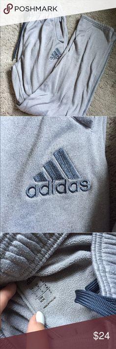 Super Comfy Adidas Sweatpants SUPER comfy. a little bit worn, but good condition! Adidas Pants