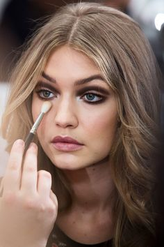Y A Z — runwayandbeauty:   Gigi Hadid - Beauty at Diane...