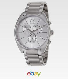 2cf74751616 Calvin Klein Exchange Men s Quartz Watch K2F27126