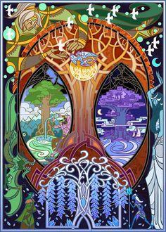 tree of life by breath-art.deviantart.com on @DeviantArt