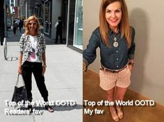 #TopoftheWorldStyle #linkup #fashion #over40 #over50   Top of the World Style link up party every Thurdsday on High Latitude Style http://www.highlatitudestyle.com