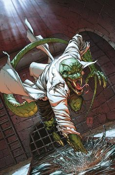 The Lizard by Shane Davis #MatthewClarkVariant