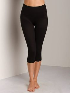 2d750a9923711 Spanx Active Women s Shaping Compression Knee Pant Black Pants XL X 16 -  CONTINUE