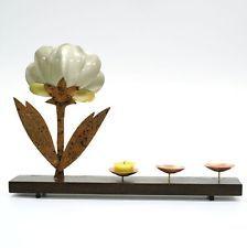 Brass metal votive acent cadles holder vintage tealight weeding partylite #402 $139.00