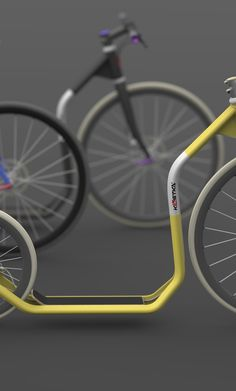 design of a kickbike frame