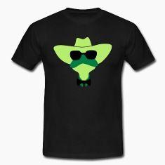 """frosch mit sonnenbrille und hut.weitere motive von reop sind unter dem suchbegriff """" sprockhövel """"T-Shirts."""