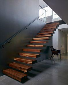 いいね!193件、コメント3件 ― i n s i t u s t u d i oさん(@insitustudio_)のInstagramアカウント: 「. // beautiful floating stairs // Designed by: Paul Bernier Location: Montreal, Canada Photo: James…」