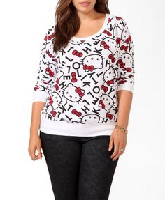 Hello Kitty® Letters Pullover | FOREVER21 PLUS - 2031557035