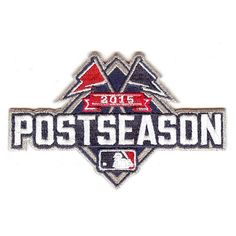 MLB Postseason 2015 Patch As Worn On Field by The Emblem Source