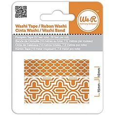 We R Memory Keepers Washi Tape - Pumpkin