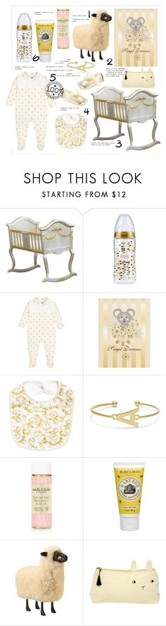 """Golden Baby"" by thestyleartisan ❤ liked on Polyvore featuring AFK, Estelle & Thild and Emile et Ida"