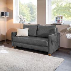 Das moderne #Schlafsofa #Reposa ALBA in Grau bietet tagsüber eine gemütliche Sitzgelegenheit und verwandelt sich nachts blitzschnell zu einem komfortablen #Bett.  Lass Dich von unseren #Schlafsofas auf unserer Webseite inspirieren.   #polstermöbel #sofa #madeingermany #handmade #schlafgast #bett #zuhausesein #naturliebe #nachhaltig #sofamitschlaffunktion #sofabed #funktionssofa #couch #schlafcouch #längsschläfer #bedcouch #nachhaltig #wohnidee #interior #längsschläfer #2sitzer #3sitzer Sofas, Modern, Love Seat, Furniture, Home Decor, Beige Colour, Sitting Area, Basic Colors, Seating Areas