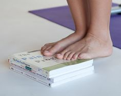 Strengthening exercises for the ankles - very important for long distance runners!