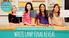 White Lamp Final Reveal - HGTV Handmade Mystery Box Challenge