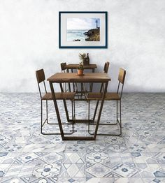 All about Betonstil MixDecò Deep Navy satin by Terratinta Ceramiche on Architonic. Find pictures & detailed information about retailers, contact ways. Bar Table, Decor, Table, Sweet Home, Flooring, Furniture, Home Decor, Color Mixing, Coffee Table