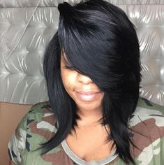 How to Achieve a Banging Bob ========================= http://voiceofhair.com/how-to-achieve-a-banging-bob-with-a-quick-weave/ =========================