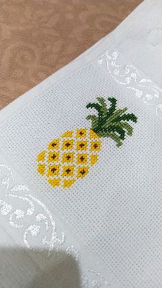 Pineapple, Cross Stitch, Sewing, Model, Toilet Decoration, Cross Stitch Patterns, Cross Stitch Embroidery, Embroidery Stitches, Funny Embroidery