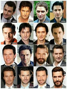 Richard Armitage 2001-2016