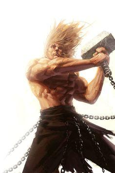 Thor Thursday - 27 by *reau on deviantART