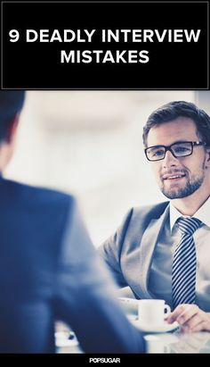 9 Costly Interview Mistakes That Can Lose You That Job Offer #job #interview