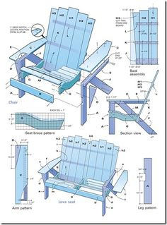 adirondack chair plans - something worth to invest your time in, Hause und Garten
