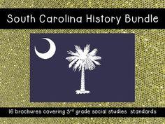 16 Amazing Brochures for 3rd Grade South Carolina History/Social Studies Teachers!