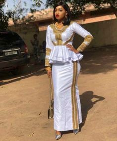 2019 Ankara Skirt And blouse: 50 most Fashionable and Trendy Ankara skirt and blouse styles To. African Fashion Ankara, Latest African Fashion Dresses, African Print Fashion, Africa Fashion, African Lace Styles, African Lace Dresses, African Attire, African Wear, African Blouses