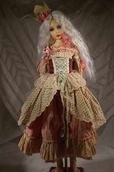 Art doll by The Dress Maker