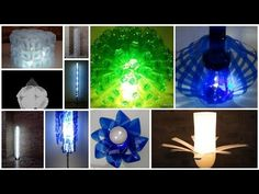20 Lamps Made Out Of Recycled Plastic Bottles • Recyclart