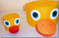 Cómo hacer un sombrero de pato.