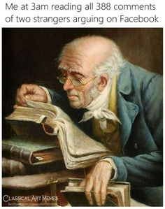 Some More Classical Art Memes For Cultural Stimulation