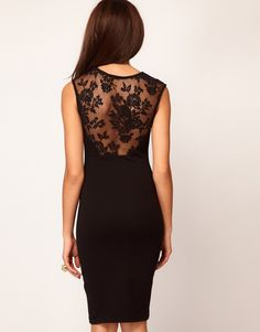 Slim Bodycon Party Floral Lace Cocktail Dress (Belt is NOT included)