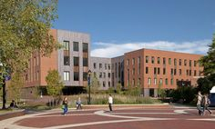 Leers Weinzapfel Associates Completes LEED Gold-Designed Oak Hall at University of Connecticut | Inhabitat - Green Design, Innovation, Architecture, Green Building