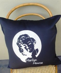 Items similar to Marylin Monroe Scatter Cushion Cover on Etsy Scatter Cushions, Throw Pillows, Marylin Monroe, Decoration, Trending Outfits, Unique Jewelry, Cover, Handmade Gifts, Design