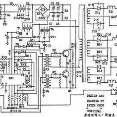 How To Repair Computer Power Supply - Power Supply Circuits Hack Internet, Power Supply Circuit, Electrical Energy, Electrical Connection, Circuit Diagram, Computer Case, Electric Power, Electronics Projects, Power Cable
