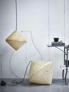 Focus on craftmanship in the IKEA Viktigt Collection in collaboration with Ingegerd Råman. Ikea New, Furnishings, Ikea Design, Scandinavian Home, Lamp Design, Lamp, Home Accessories, Interior, Home Decor