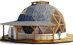 Geodesic dome structures by SonoDome. dome home, dome greenhouse, event dome tents Monolithic Dome Homes, Geodesic Dome Homes, Sustainable Architecture, Architecture Design, Dome Structure, Earthship Home, Dome Greenhouse, Dome House, Earth Homes