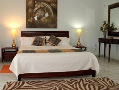 depiction of safari bedroom decor ideas - African Bedroom Decorating Ideas