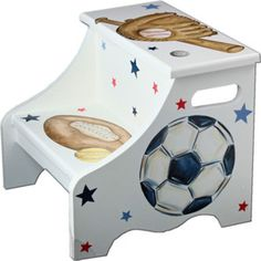 All Sports Step Stool. Home goods has one similar to this one. Need for the boys bathroom.