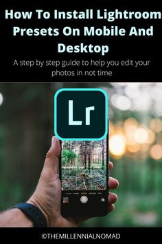 How to install the Lightroom presets you just downloaded you wonder? here is a free guide on how to install them on desktop and mobile Learn Photography, Photography Tutorials, Photography Business, Amazing Photography, Lightroom Before And After, Lightroom Workflow, Edit My Photo, Edit Your Photos, Take Better Photos