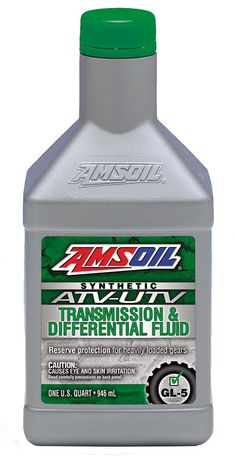 AMSOIL Synthetic ATV/UTV Transmission & Differential Fluid is engineered to deliver upgraded performance for hard-working and performance ATVs and UTVs. Its outstanding severe-service formulation allows riders to confidently and safely push their machines to the limit, whether tackling tough chores around their property or riding aggressively on the trail.