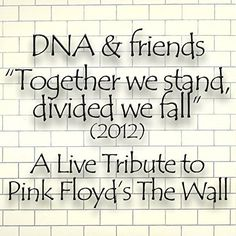 DNA & Friends Present a Live Tribute to Pink Floyd's The Wall 2012 (Together We Stand, Divided We Fall) DNA | Format: MP3 Music, http://www.amazon.com/gp/product/B00NTA4MCA/ref=cm_sw_r_pi_dp_5yOiub0EQB7KP