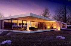 Casa Minimalista Moderna: 20 Foto di Ville da Sogno | MondoDesign.it