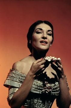 """I don't need money dear. I work for art."" -Maria Callas"