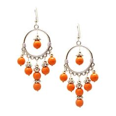 @Overstock - This handcrafted pair of dangle earrings from Pretty Little Style features coral turquoise beads, Tibetan bead caps, and a Tibetan silver chandelier. The antique Tibetan silver and modern coral beads are perfect complements to each other. http://www.overstock.com/Main-Street-Revolution/Pretty-Little-Style-Tibetan-Silver-Turquoise-Chandelier-Earrings/7226624/product.html?CID=214117 $14.29