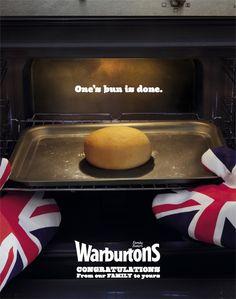 Warburtons: Bun     One's bun is done.  Advertising Agency: WCRS, UK